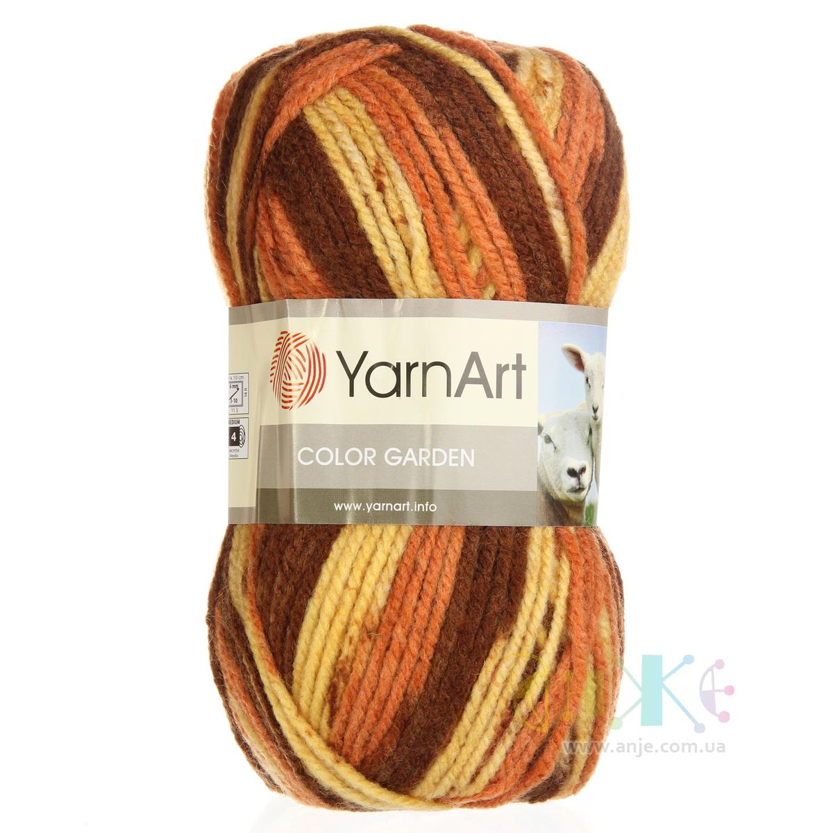 Yarn art color garden -  Yarnart Color Garden 11