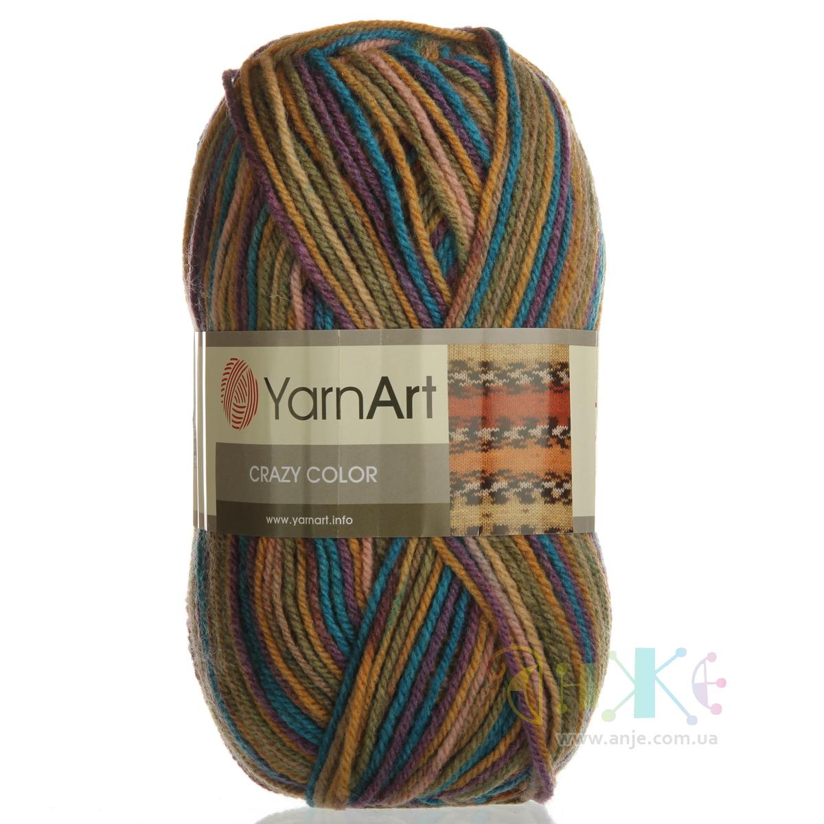 yarn art color garden :  Yarnart Crazy Color 151