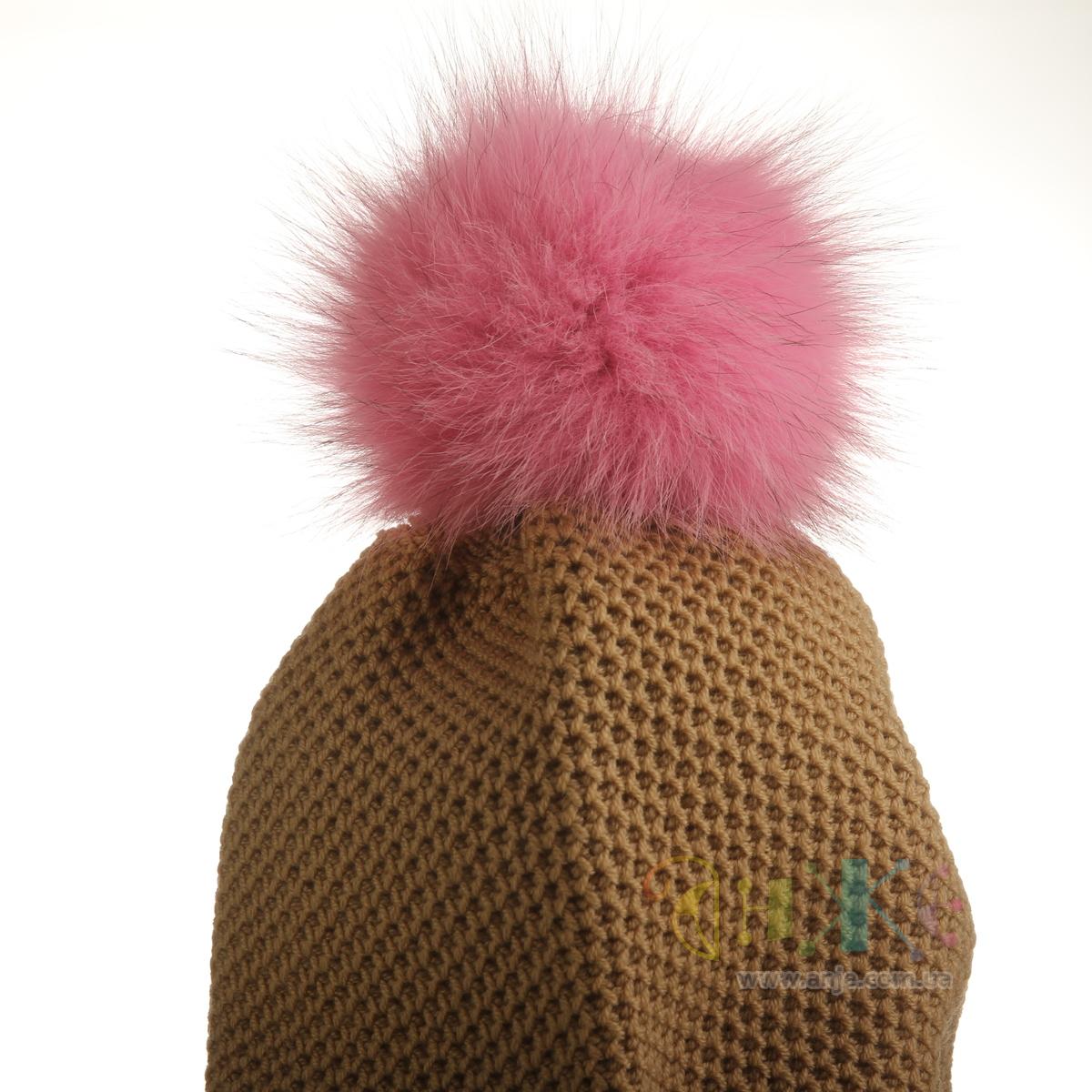 Как сделать помпон на шапку из пряжи или ниток - Мастер класс 21