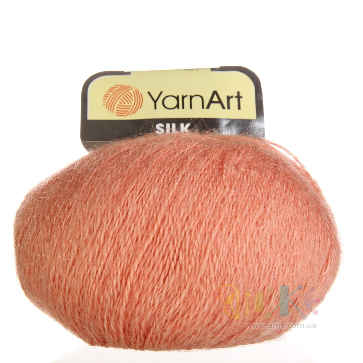 пряжа yarnart silk royal отзывы