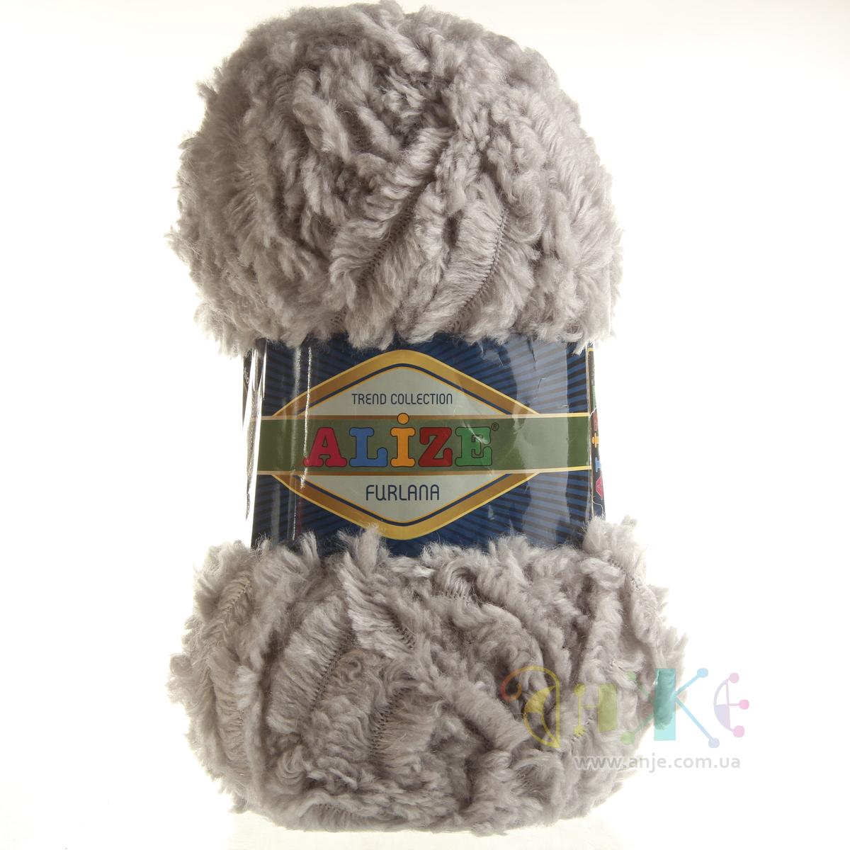 Пряжа для вязания ализе фурлана 132