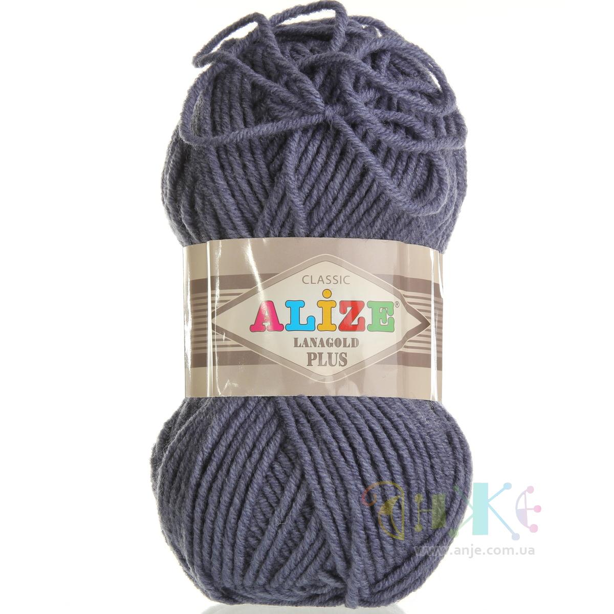 Нитки для вязания лана голд